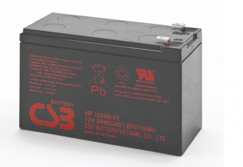 Acumulator CSB HR1234WF2 12V/9Ah