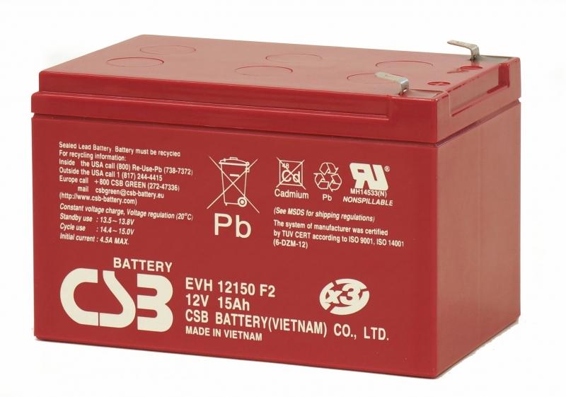 Acumulator CSB EVH12150 12V/15Ah