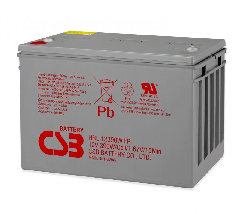 Acumulator CSB HRL12390WI2FR 12V/98Ah