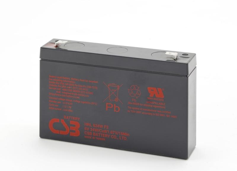 Acumulator CSB HRL634WF2FR 6V/9Ah