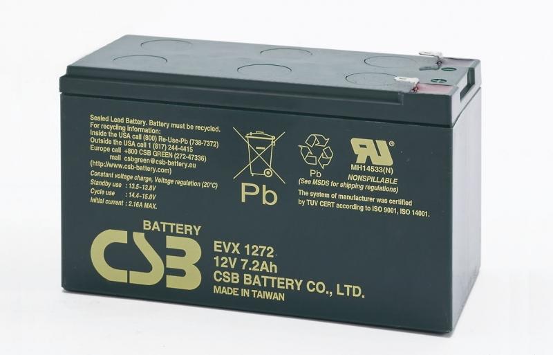 Acumulator CSB EVX1272 12V/7.2Ah